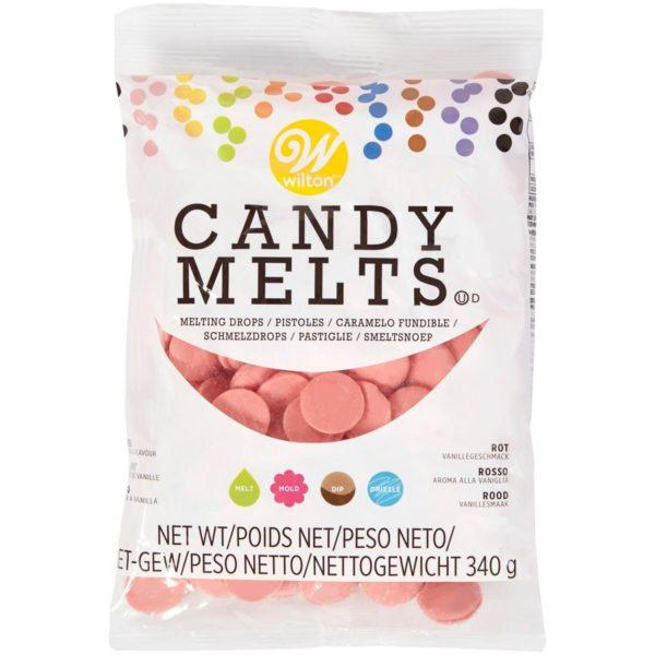 Candy Melts Lys Rød 340g