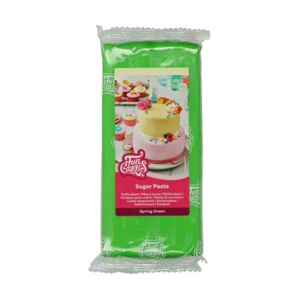 Vårgrønn fondant fra FunCakes, 1kg