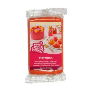 Oransje marsipan fra FunCakes, 250g