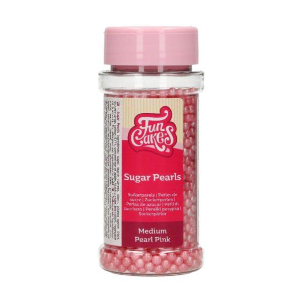 Kakestrø Sukkerperler Perlemor Rosa