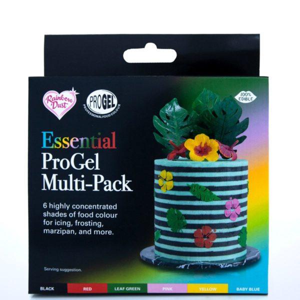 ProGel pastafarge -Multipack- 6 farger