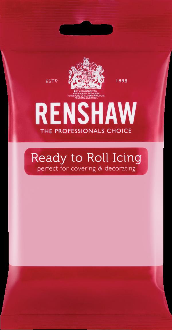 Rosa fondant fra Renshaw, 250g