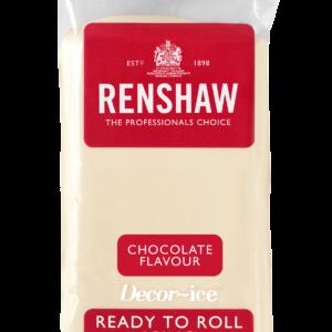 Hvit fondant med smak av hvit sjokolade fra Renshaw, 250g