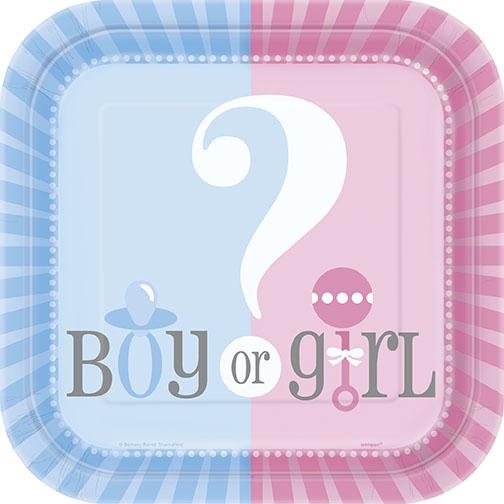8 små engangsfat gutt/jente