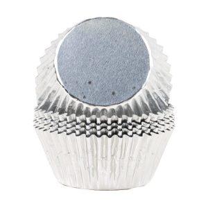 Konfektformer Sølv, 48 Stk