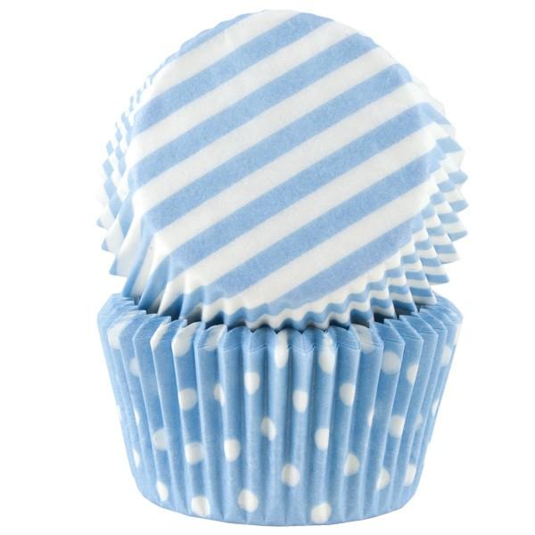 Muffinsform blå pastell 50 stk