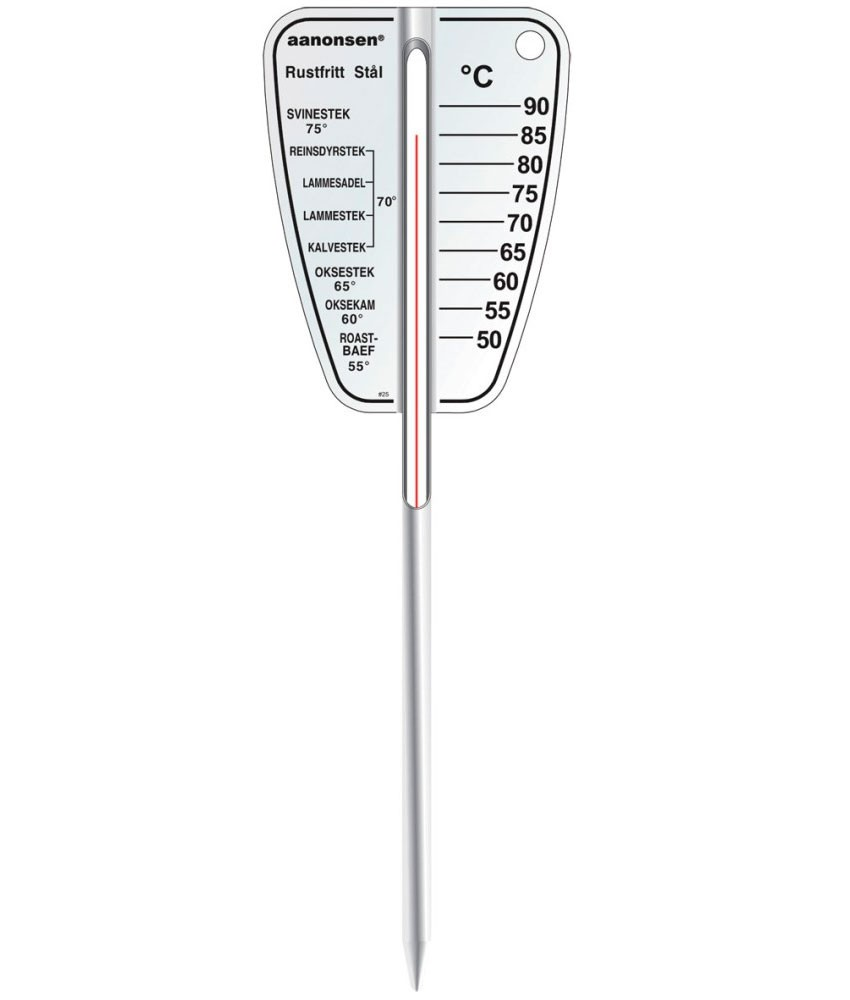 Steketermometer flat, 17cm
