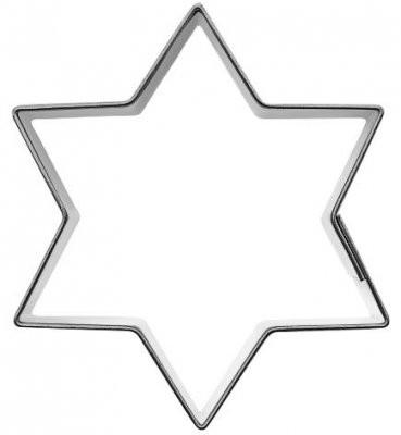 Pepperkakeform stjerne L - 10 cm