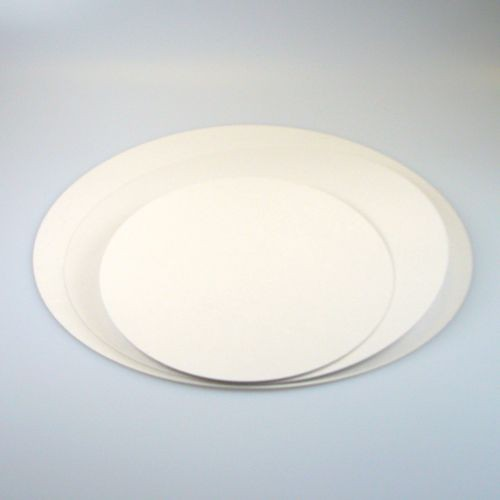 FunCakes kakeunderlag -Hvit- rund 24cm, 5stk