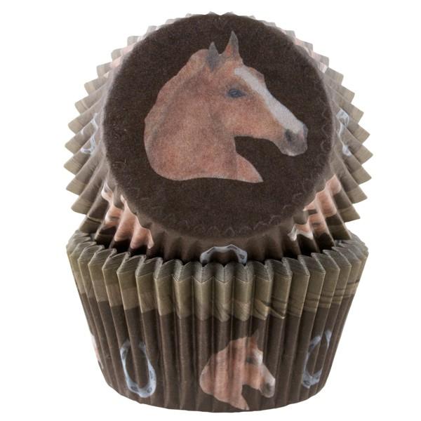 Muffinsform Hest, 50 stk