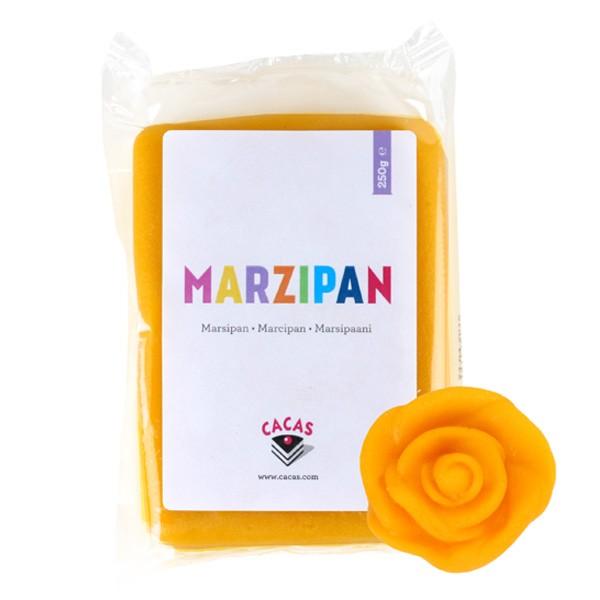 Gul marsipan, 250g