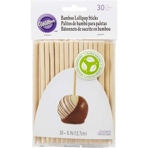 Lollipop Pinner Bamboo, 30 Stk