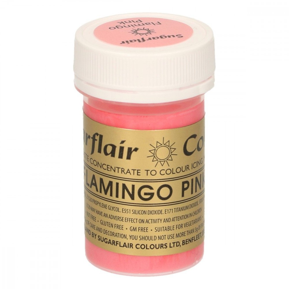 Sugarflair pastafarge Flamingo Pink, 25g