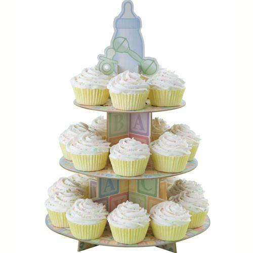 Wilton Cupcake Stand Baby-tema