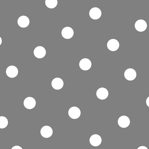 Grå servietter m/prikker, 20 stk