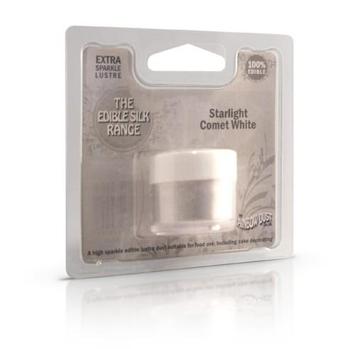 Edible Silk Starlight Comet White