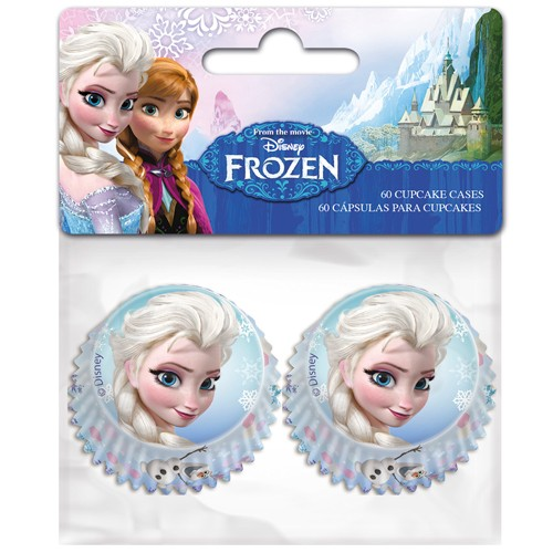 Mini Baking Cups Frozen 60stk