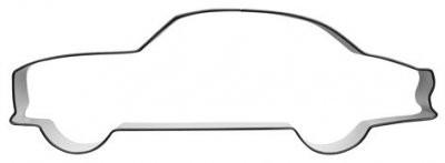 Pepperkakeform Volvo Amazon - 13 cm