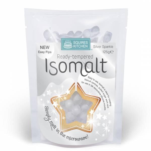 SK Isomalt ferdig temperert -Sølv- 125g