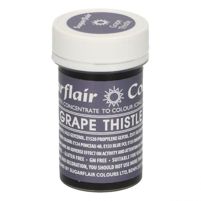 Sugarflair pastafarge Grape Thistle, 25g
