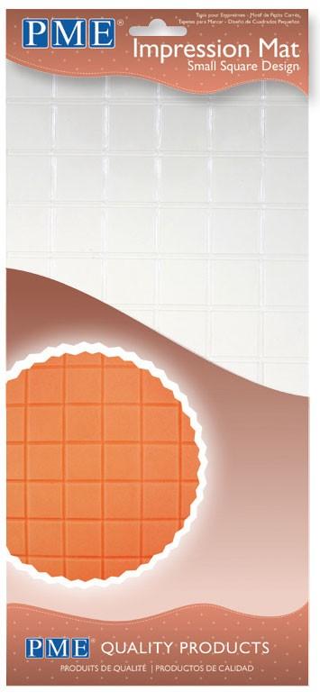 Mønstermatte, små kvadrater