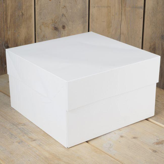 FunCakes Kakeeske - Hvit 30x30x15cm