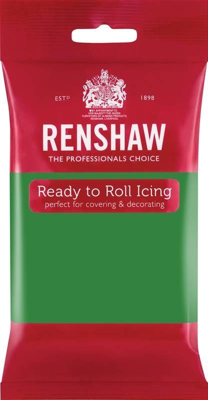 Grønn fondant fra Renshaw, 250g