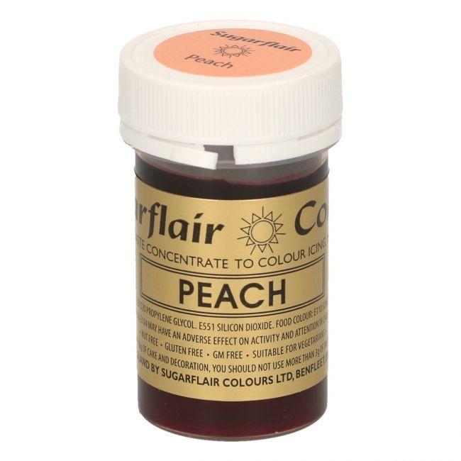 Sugarflair pastafarge Peach, 25g