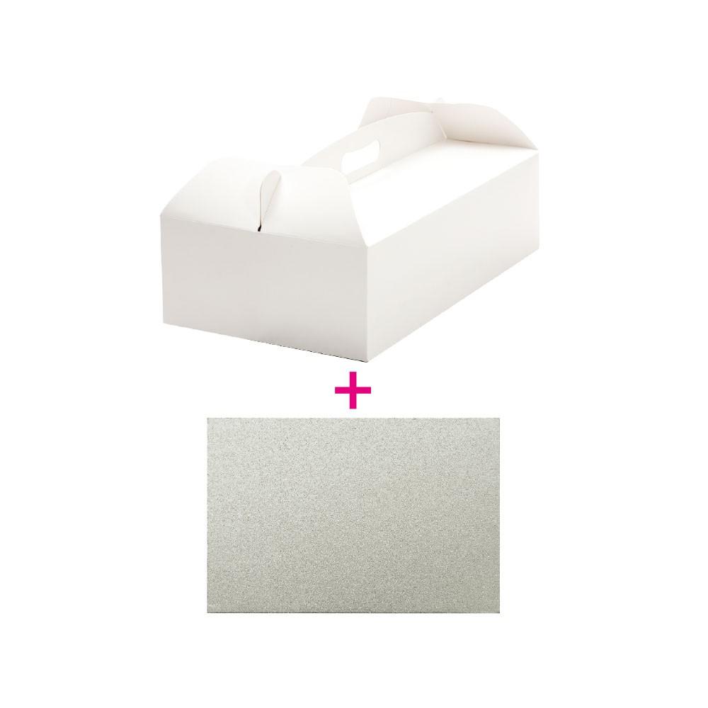 Decora kakeeske og kakebrett -46x36x12cm-