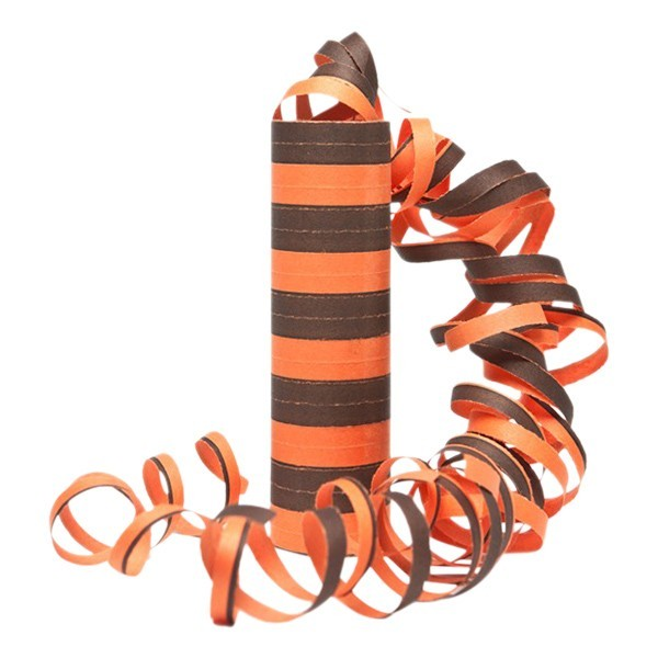 Serpentiner -Svart og Oransje-