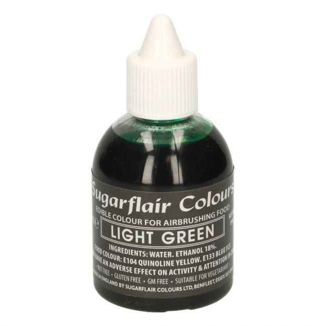 Sugarflair Airbrushfarge -Lys grønn- 60ml