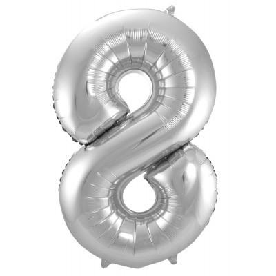 Tallballong -8- Sølv 86cm