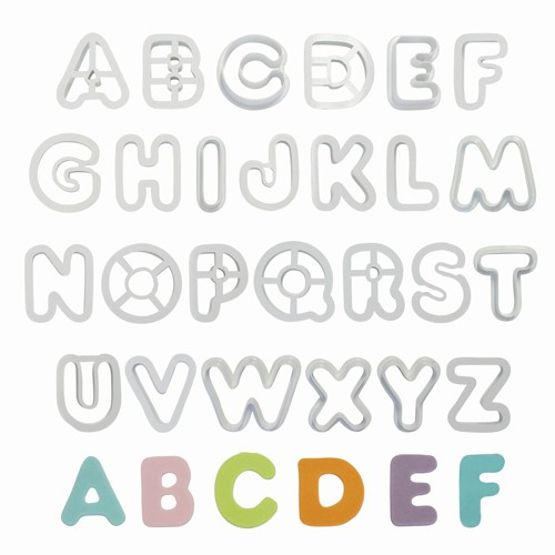 PME Alfabetutstikker, 26 deler