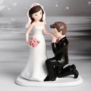 Kaketopp bryllup - Kyss på hånden