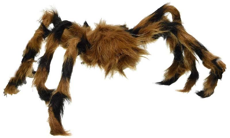 Dekor, Hårete edderkopp, Tarantella, 75cm