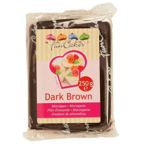 Mørk brun marsipan fra FunCakes, 250g