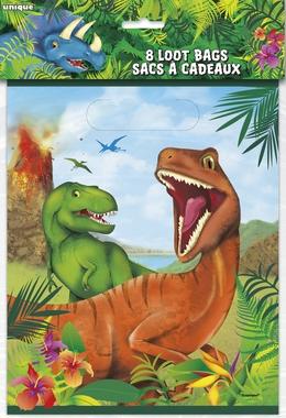 Godteposer Dinosaur, 8 stk