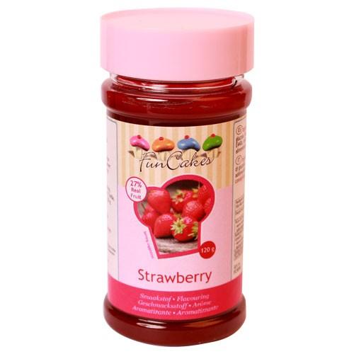 FunCakes Smakstilsetning -Jordbær- 120g