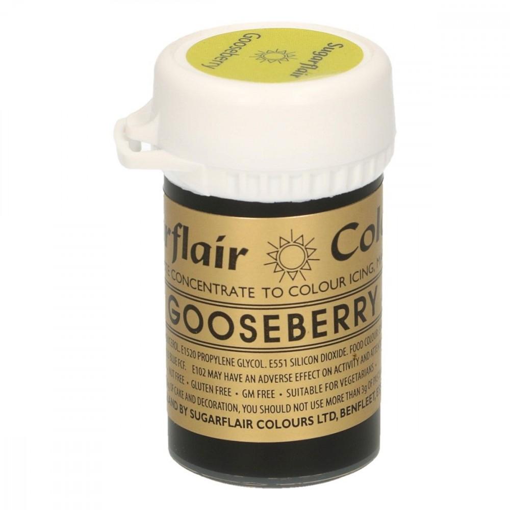 Sugarflair pastafarge Gooseberry, 25g