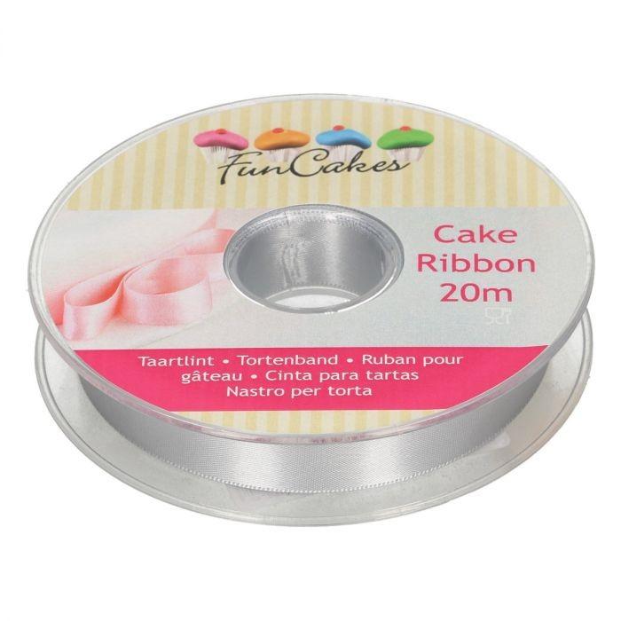 FunCakes Kakebånd -Sølv- 15mmx20m