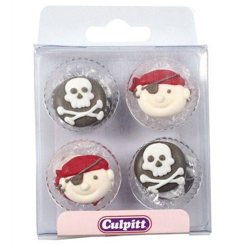Culpitt Spiselig kakepynt Pirat pk/12