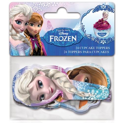 Cupcake figurpynt Frozen 24stk