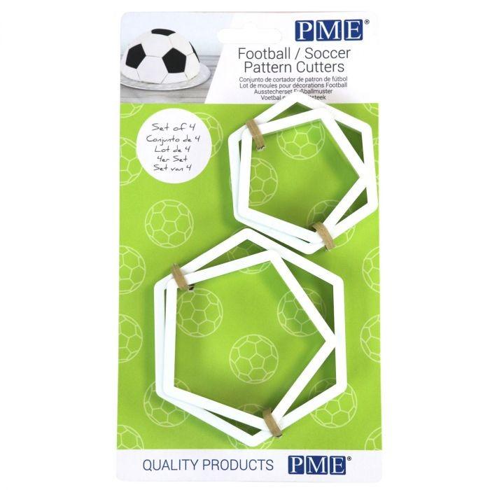 PME Utstikkersett for fotballmønster