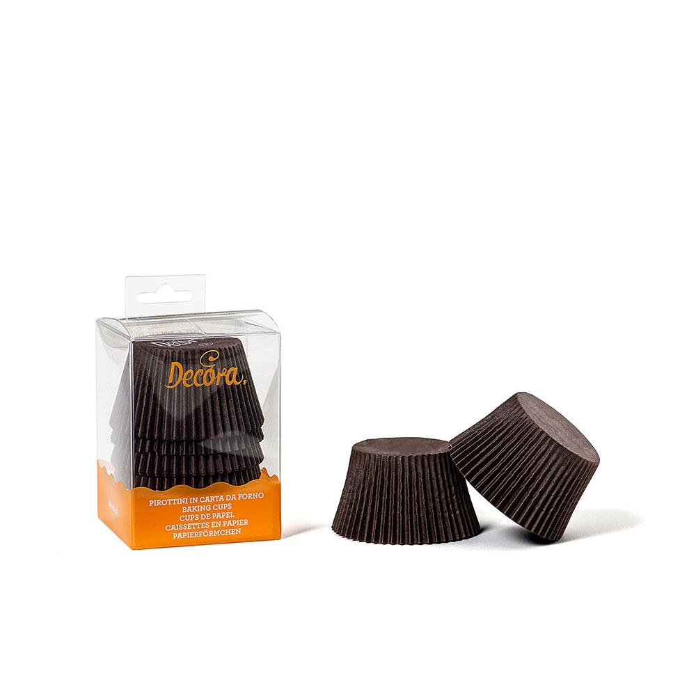 Decora Muffinsformer, jumbo -Brun- pk/60