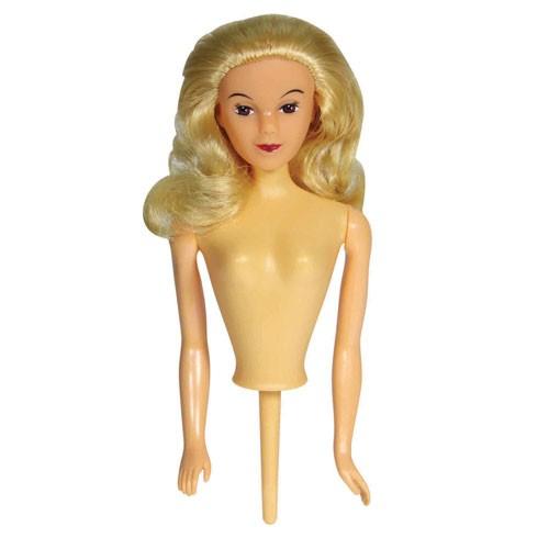 PME Kaketopp Dukke -Blondt hår-
