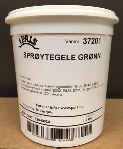 Pals Grønn sprøytegele - 1,3kg