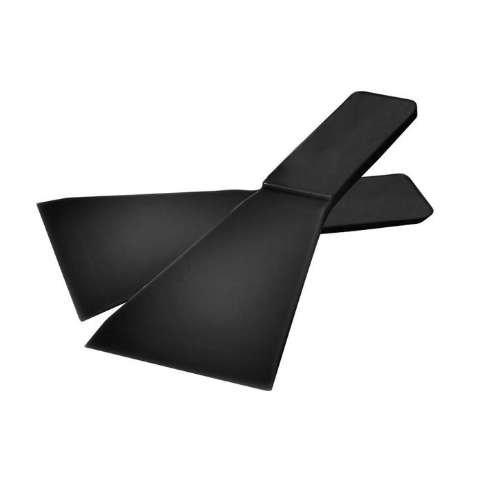 Benkeskrape, svart