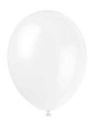 Ballonger, 10 stk hvite