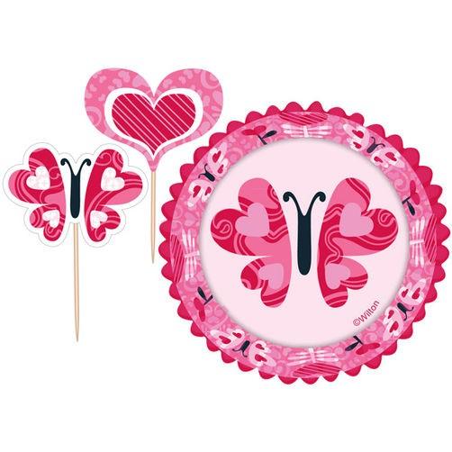 Cupcake Combo You Bake Me Smile, 24 stk