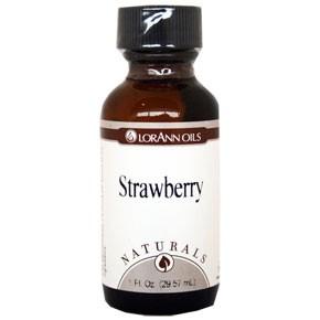 Smakstilsetning - Naturlig Jordbær, 30ml